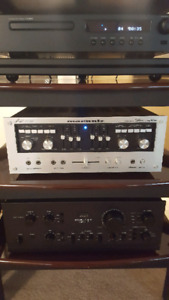 Vintage Marantz Model 1150 integrated amplifier