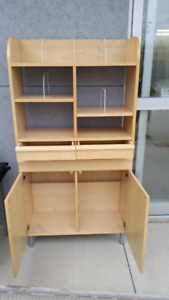 IKEA two piece storage shelf unit