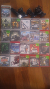PS3 40GB + 20 games + 3 controllers