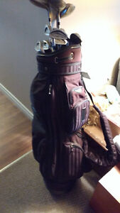 Wilson Pro Staff OD Plus Oversize Golf Clubs and Bag