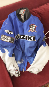Two piece Motorcyle jacket