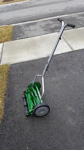 """Scotts Turf 14"""" Push Reel Mower - practically new!"""