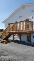 DECKS, STEPS, ROOFING, SIDING  And general renovations