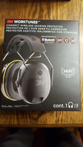 3M™ WorkTunes™ Connect Hearing Protector with Bluetooth®