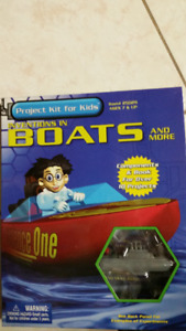Project Kit for Kids Inventions in Boats and More 7 #25029