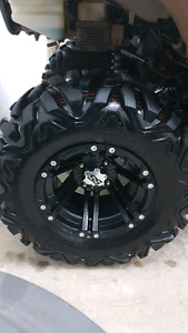 ITP SS Wheels with like new tires