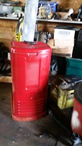 Antique coleman oil/diesel heater