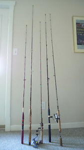 Zebco Rhino, Rapala Griffin,  Rods and reel