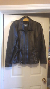 Ladies large motorcycle jacket