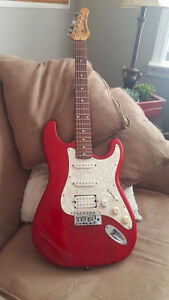 1980's Samick Stratocaster Style Electric Guitar