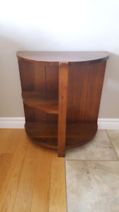 Antique Display End Table