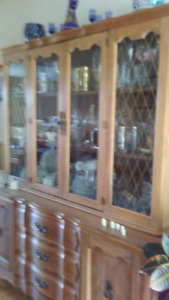Dining Room And Hutch