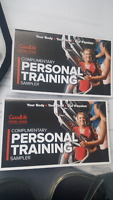 Two Goodlife Personal Training Sessions for $40!!!
