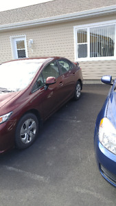 2013 Honda Civic SE 4 door Sedan
