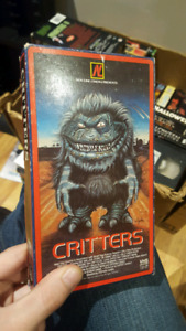critters rare vhs oop