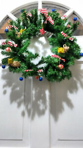 HAND MADE HOLIDAY ANGEL WREATH London Ontario image 1
