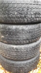 R16 215-65 WINTER TIRES