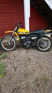 Vintage yamaha 500cc dirtbike forsale
