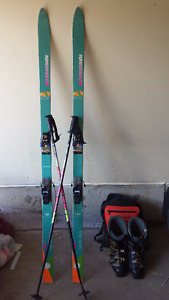 Nordica Ski boots and Rossignal Skis