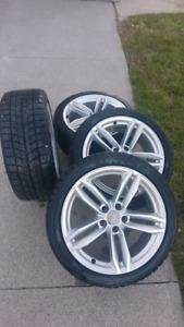 Audi S4 Winter tires and rims