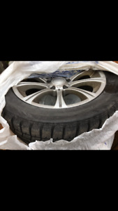 Winter Tires with Rims 245/50/R18