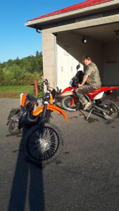 **reduced for quick sale**2008 ktm 530 exc-r