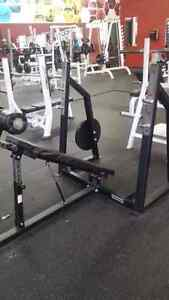 Hammer Strength Flat, Incline, Decline Olympic benches Kitchener / Waterloo Kitchener Area image 6
