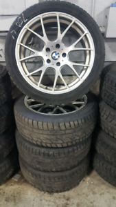 Bmw 7 series rims and tires 245 45 R19