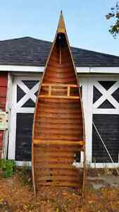 Antique canoe  ..back on line still for sale ..