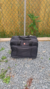 Rolling carry on laptop bag.