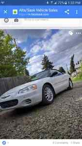 2002 sebring convertible for trade for suv