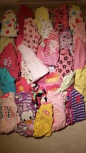Lot of 170 baby girl clothes size 3 m-24 m