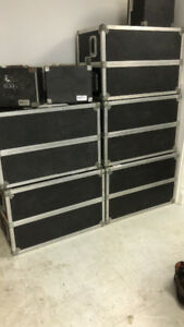 Clydesdale cases for sale. $400 for 8 pc.