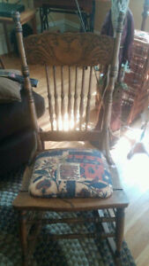 Small Wooden Rocking Chair