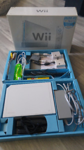 Nintendo Wii with Rockband and other games