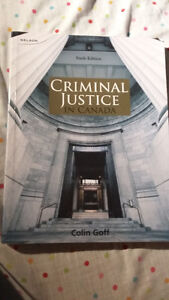 Criminal Justice in Canada by Colin Goff (Sixth Edition)