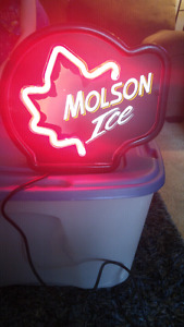 Molson Ice  Sign