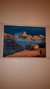 Original Nepal Oil Paintings Vancouver Greater Vancouver Area image 4