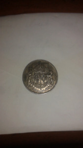 1943 50 cent coin silver