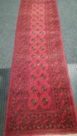 Afgan carpet runner