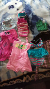 Size 2 and some 24 month girls clothes