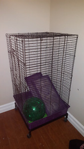 Ferret Nation Cage and accessories