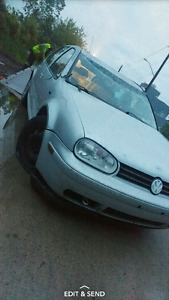 Parting out 04 tdi golf