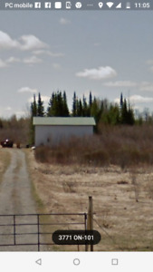 155 acres of land in Black River Matheson.