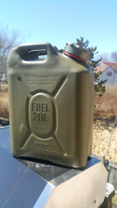 New fuel jug
