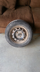 Winter tires 175/70 R13 and rims