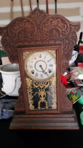 Antique Gilbert Shelf/Mantel Clock