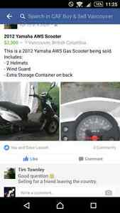 SELLING MY YAMAHA AWS SCOOTER!!!! $