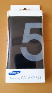 Flip Wallet for Samsung Galaxy S5 Black