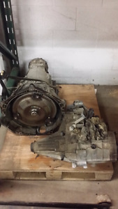 4l60E transmission and transfer case